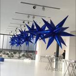 hvezda modra balonky 3d