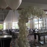 svatebni brana balonky metalic helium srdicka zavazi na balonky