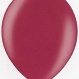 Balonky metalické 147 RUBY WINE - tmavě červená