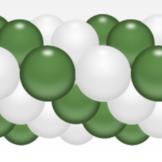 Balónková girlanda tmavě zelená 3 m