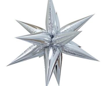Plesová dekorace stříbrná