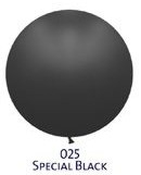 Obrie balóniky - JUMBO - 025 BLACK