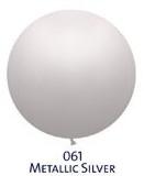 Obrí metal. balónik - JUMBO - 061 SILVER