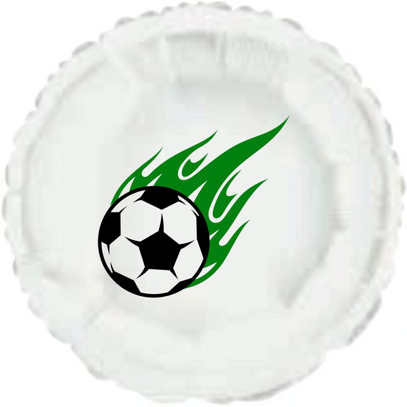 Balónek fotbalový míč kruh