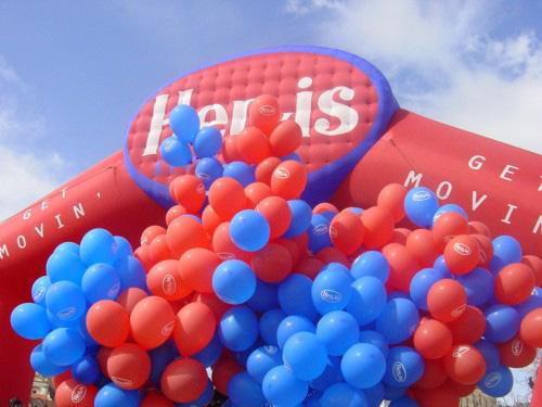 balonková dekorace