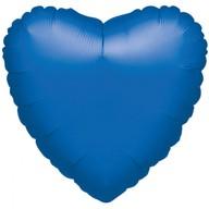 Balonek srdce foliové Royal Blue