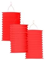 Lampión červený 28 cm