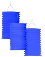 Lampión modrý 28 cm