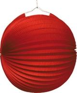 Lampión červený 25 cm