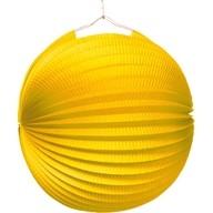 Lampión žltý 25 cm