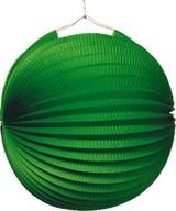 Lampión zelený 25 cm