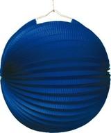 Lampión modrý 25 cm