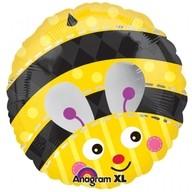 Foliový balonek včelka 45cm