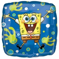 SpongeBob foliový balónek 45cm
