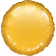 Fóliový balónek zlatý