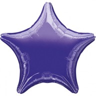 Hvězda Purple Metallic 48cm