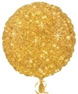 Balonek kruh zlatý - hvězdy