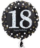 Balónek foliový 18. narozeniny 43 cm