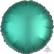 Balónek kruh satén zelený