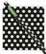 Balící papír černo - bílé tečky
