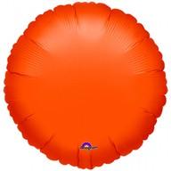Balónek kruh Orange Metallic