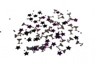 Konfety hvězdy a skleničky