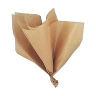 Hedvábný papír zlatý 5ks 51cm x 66cm