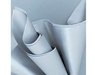 Hedvábný papír stříbrný 5ks 51cm x 66cm