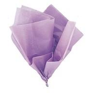 Hedvábný papír světle fialový 10ks 51cm x 66cm
