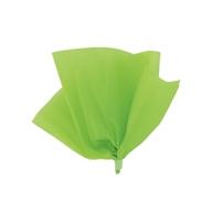 Hedvábný papír zelený 10ks 51cm x 66cm