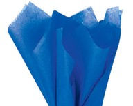 Hedvábný papír modrý 10ks 51cm x 66cm