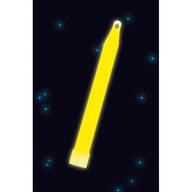 Svítící tyčinka žlutá 15cm