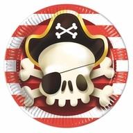 Piráti talíře 8ks 23cm