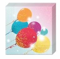 Ubrousky balonky 20ks 33cm x 33cm