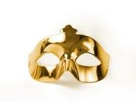 Maska zlatá
