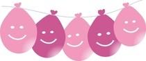 Balóny s potlačou visiace