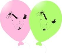Omalovánky na balóniky