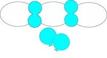 Balonek D5 dekorační 003 Sky Blue