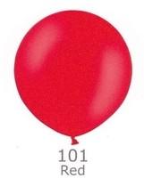 Obrie balóniky  - JUMBO - 001 RED