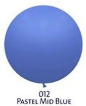 Obrie balóniky  - JUMBO - 012 MID BLUE