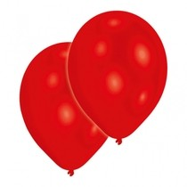 Balonky svítící červené 5ks LED