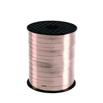 Stuha růžovo-zlatá 230 m x 5 mm