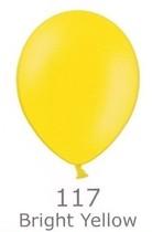 Balónky tmavě žluté