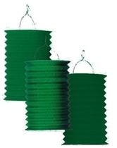 Lampión zelený 28 cm