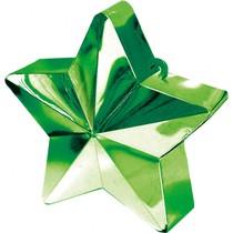 Závaží na balónky hvězda zelená