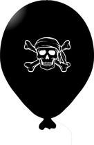 Pirát balónek černý