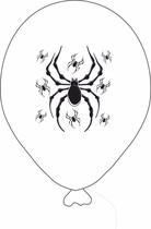 Balónek pavouk bílý