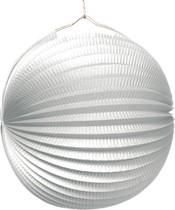 Lampión biely 25 cm