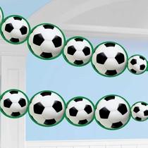 Fotbal závěsná dekorace 243 cm x 14 cm