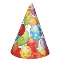 Čepičky balonky 8ks